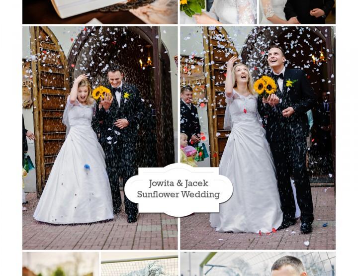 Jowita & Jacek Sunflower Wedding